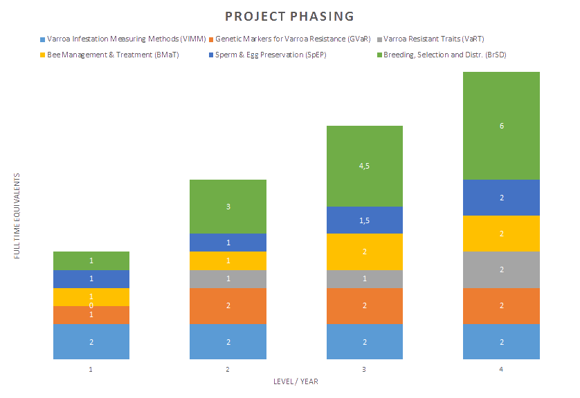 Project phasing - graph-transparant